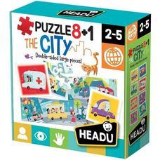 HEADU Puzzle 8+1 Város