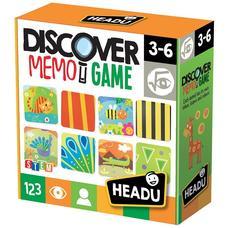 HEADU Memória játék - Felfedezés