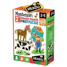 HEADU Montessori tapintós puzzle - A tanya