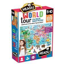 HEADU 3D Puzzle - Világutazás