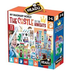 HEADU Mese Puzzle - Lovagi kastély