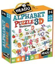 HEADU Montessori 3D Puzzle - Angol ABC