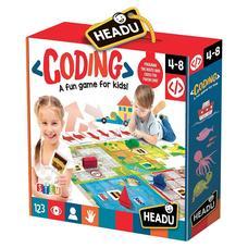 HEADU Fejlesztő társasjáték - Kódolás