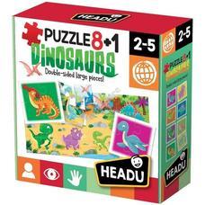 HEADU Puzzle 8+1 Dinók