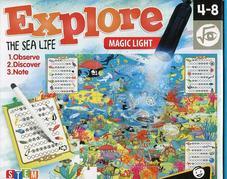 HEADU Megfigyelő puzzle mágikus lámpával - Fedezd fel a tengeralatti világot!