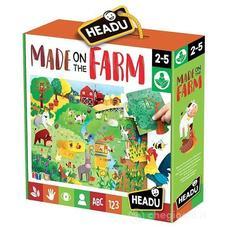HEADU Fejlesztő puzzle - A tanyán