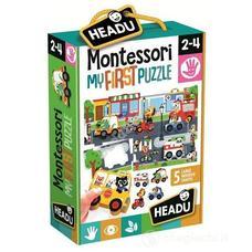 HEADU Montessori Első puzzle - Város