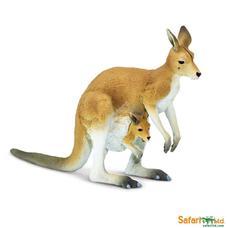 SAFARI Kangaroo with Joey - Kenguru kicsinyével