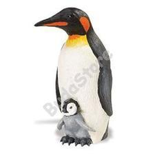 SAFARI Emperor Penguin with Baby - Pingvin picinyével