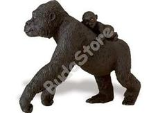 SAFARI Lowland Gorilla with Baby - Lowlandi Gorilla kicsinyével