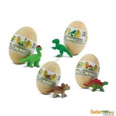 SAFARI Baby dino eggs Stegosaurus - Stegosaurus bébi tojásban