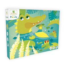 SYCOMORE Puzzle Krokodil 36 db-os