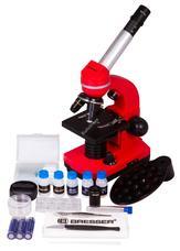 Bresser Junior Biolux SEL 40–1600x mikroszkóp piros 74320
