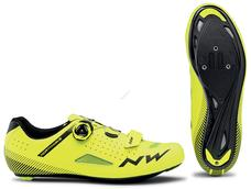 NORTHWAVE Cipő NW ROAD CORE PLUS 43,5 sárga fluo 80191014-40-435