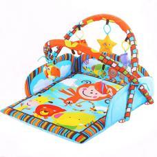 Dzsungel játszószőnyeg játékhíddal HOP1001013-1