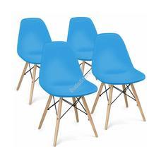 4 db modern étkezőszék kék HOP1001035-4