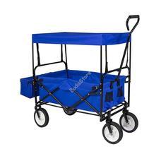 Összecsukható kocsi tetővel kék HOP1001001-1