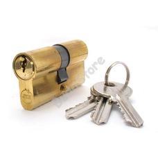 JKH SB zárbetét 40/40mm 3 kulcs réz 3986459