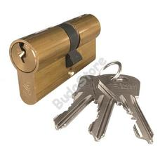 JKH SB zárbetét ELZETT XT 30/30mm 3 kulcs réz 3986450