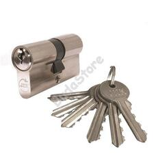 JKH zárbetét 30/30mm 6 kulcs nikkel 3286371