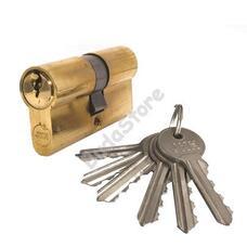 JKH zárbetét 30/30mm 6 kulcs réz 3286466