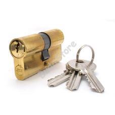 JKH zárbetét 35/45mm 3 kulcs réz 3286412