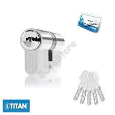TITAN i6 zárbetét 30/30mm fúrásvésett 5 fúrt kulcs matt nikkel 3286610
