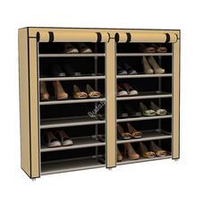 Mobil cipőtároló szekrény bézs HOP1000975-3