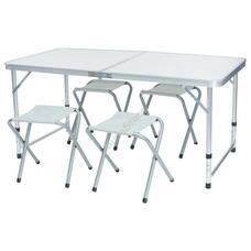 Kemping asztal 4 székkel HOP1001049
