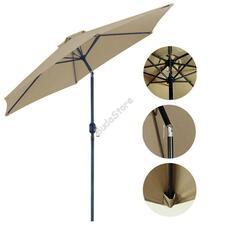 Dönthető nagyméretű napernyő khaki HOP1000861-1