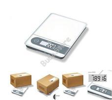 BEURER KS 59 XXL Digitális konyhai mérleg csomag mérésre is