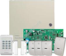 DSC PC1404 csomag + 3 db SIM-PI + 1 db SIM-04 120558
