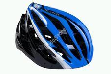 BIKEFUN SKYSTREAM fejvédő L 58-61cm fekete-kék HB26BL