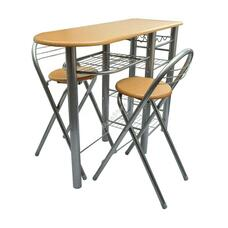 Konyhai bárszett asztallal és 2 db székkel HOP1001096