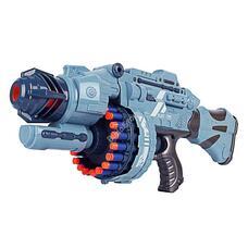 Játékfegyver hanggal ajándék töltény szettel szürke HOP1001112-2
