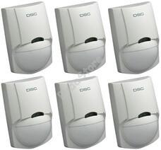 DSC LC100-PI passzív infra mozgásérzékelő 6 db-os PACK 116731