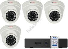 4 dome kamerás AHD CP PLUS megfigyelőrendszer 116859