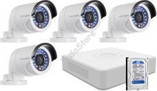 4 infrakamerás megfigyelőrendszer HIKVISION HDTVI 116613
