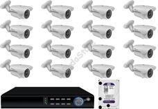 16 infrakamerás megfigyelőrendszer SANAN AHD 114509