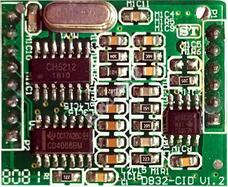 EXCELLTEL CDX-D832-CID Hívószámkijelző bővítőkártya 118253