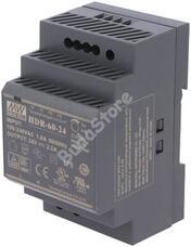 Mean Well HDR-60-24 kapcsolóüzemű tápegység 116634