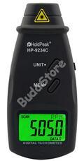 HOLDPEAK 9234C Digitáli lézeres optikai fordulatszámmérő 114825