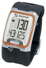 SIGMA PC 3.11 Pulzusmérő óra - narancs csíkkal