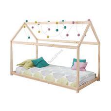 Házikó formájú gyerekágy 70x140cm HOP1001085