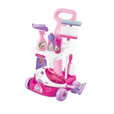Játék takarító készlet rózsaszín HOP1001160-1