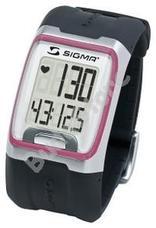 SIGMA PC 3.11 Pulzusmérő óra - rózsaszín csíkkal