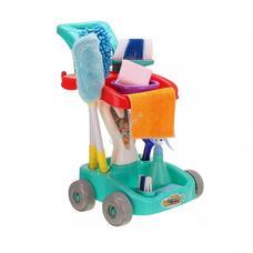 Játék takarító készlet kék HOP1001160-2