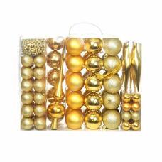 112 részes karácsonyfadísz arany HOP1001123-2