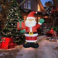 Felfújható karácsonyi figura Télapó HOP1001114