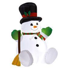Felfújható karácsonyi figura Hóember HOP1001115